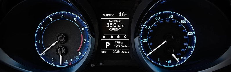 What Does Each Toyota Dashboard Warning/Indicator Light Mean?